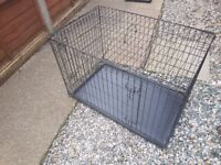 Dog Cages x 2 (Fold flat)