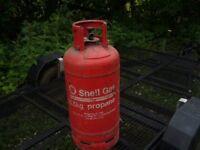 empty 18.5 kg propane bottle