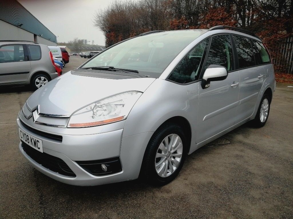 7 SEATER CITROËN GRAND C4 PICASSO 1.8 MANUAL IN VERY TOP CONDITION. LONG  MOT.