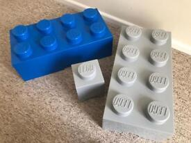 Lego Storage Boxes - Brand New