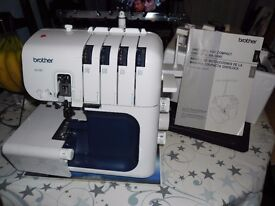 Brother 4234 D Overlocker with Extension Table, Instructions etc. In Ex Conditon