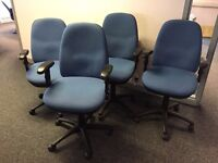 Operator Chairs x 4