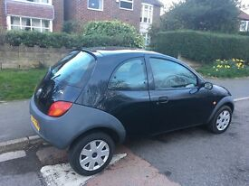 57 reg Ford KA, 12 month mot, low mileage