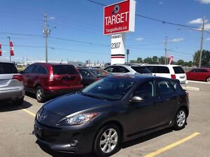 2012 Mazda MAZDA3 GS-SKY No Accidents  Leather/SR/BT REDUCED