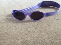 Childrens Baby Banz sunglasses with case