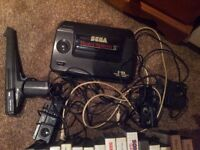 sega master system 2 with games