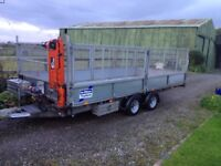 **Ifor Williams CT167g Electric Tilt Trailer with All Options included.**