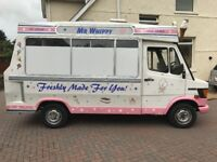 1991 Mercedes 208d ice cream van