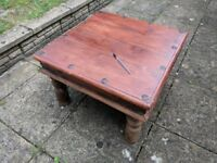 Wooden Coffee Table (Square) - Solid Wood