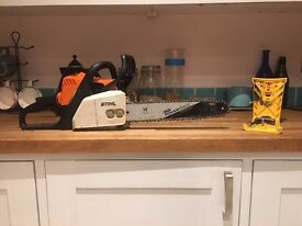 "Stihl MS180 with 14"" Oregon Powersharp Bar & Chain"