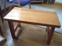 Chunky Wooden Tea Table