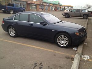 2002 BMW 745i LOW MILEAGE!!!