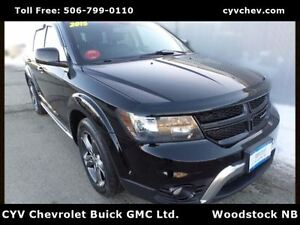 2015 Dodge Journey Crossroad AWD-$11/Day-Leather, Sunroof, 8 Tir
