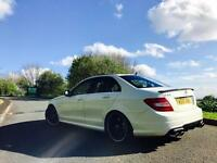 MERCEDES-BENZ C63 AMG FULLY LOADED MITN CONDITION FULL 2014 CONVERSION REMAPPED CHERISHED PLATE !!
