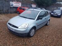 2004 Ford Fiesta 1.25 LX with Full service history