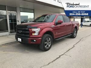 2015 Ford F-150 Lariat Crew 4x4 *Leather/Navigation/Levelled*