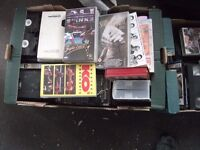 BOXING videos/dvds large amount