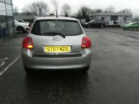 2007 07 TOYOTA AURIS 1.6 TR VVT-I MM 5D 122 BHP **** GUARANTEED FINANCE **** PART EX WELCOME