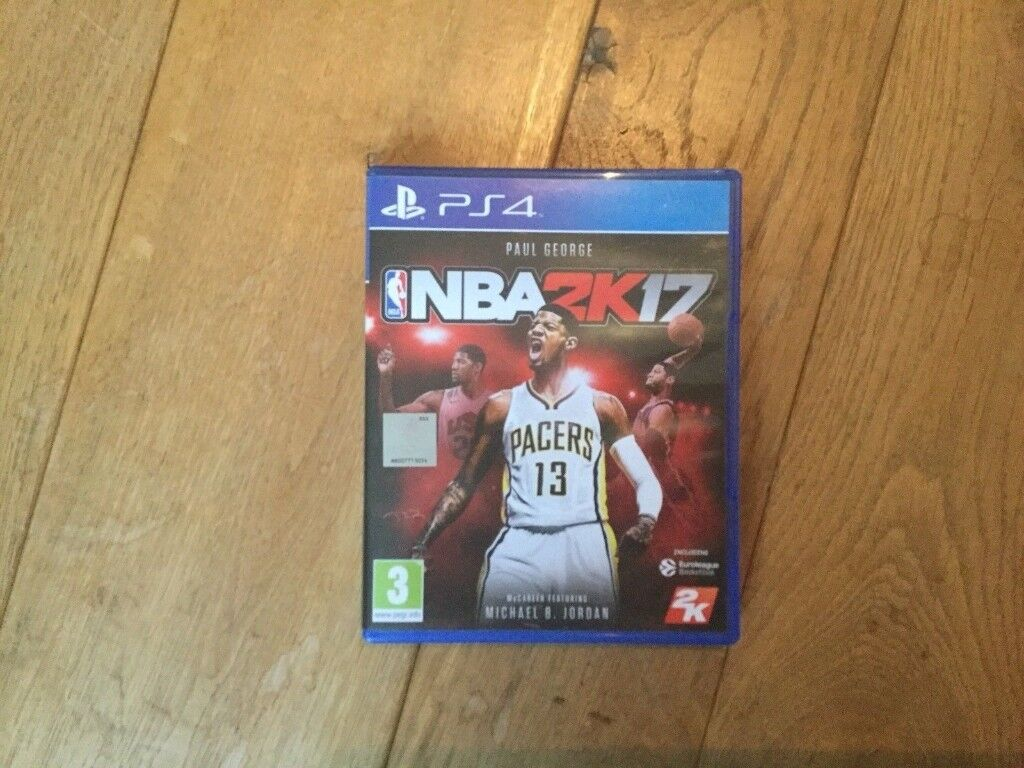 NBA 2K17 PS4 - IMMACULATE CONDITION