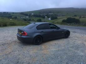 BMW 320D in graphite grey