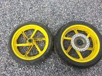 Honda CBR600F3 Front Wheel + Tyre