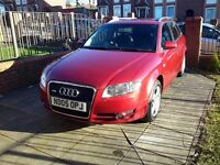 2005 AUDI A4 AVANT 2.0 BLB 141BHP FULL BLACK LEATHER SEATS AUTOMATIC GEARBOX