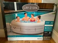 Lay Z Spa Vegas AND St Moritz for sale - both brand new in box.