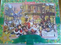 Brand new and sealed job lot waddington Christmas jigsaws
