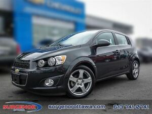 2015 Chevrolet Sonic (5) LT - 6AT  - $97.95 B/W