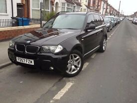 METALLIC BLACK BMW X3 M SERIES