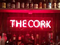 FULL TIME BAR STAFF - THE CORK