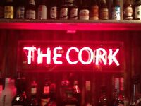 FULL & PART TIME BAR STAFF - THE CORK