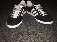Womens adidas gazelle trainers size 5 - like new