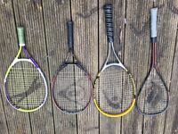 4 Racquets for less than the price of one!