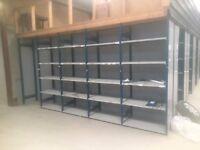 Heavy Duty Steel Shelving ideal for storage