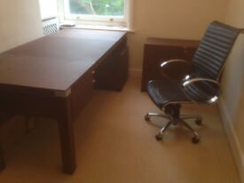 Sophisticated, contemporary yet elegant and professional (matching) office furniture JUST REDUCED