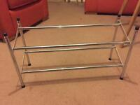 SHOE RACK EXTENDABLE TO 1.5 METERS