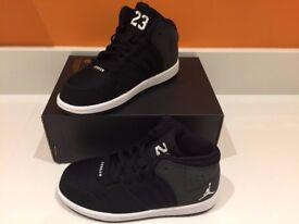 Brand new - Kids Nike Jordan's 1 Flight 4 Prem BT trainers - Size 11.5/12.5/2.5 Uk Infant