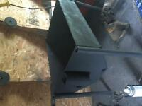 Wood stove/ Fire pit STEEL! 1/8 thick