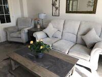 Glasswells burford sofa set.