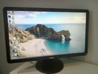 """Dell 24"""" HD wide screen monitor"""