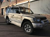 Mitsubishi Shogun 2000 2.8 TD GLS 5 door 7 SEATER, LONG MOT, BARGAIN
