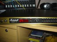 MARSHALL JMP-1 , ORIGINAL BOX , SUPERB CONDITION, NEVER GIGGED PLUS MARSHALL MIDI 4 WAY SWITCH.