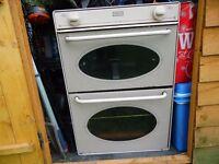 static caravan gas oven+grill