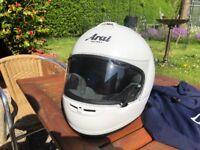 Arai helmet , as brand new