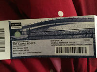1x Stone Roses Standing Ticket Sunday 19/6/2016