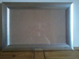 medium sized silver picture frame