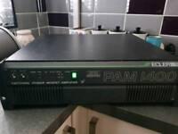 Pam 1400 2 channel amplifier