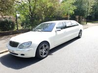 8 seat limo hire - limo for bridesmaids - limo for groomsmen - limo for family - limousine hire