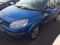 2006 Renault Grand Scenic 1.6 7 SEATER manual 12 months mot 999